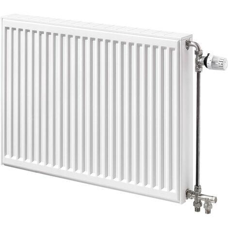 Radiateur panneau acier COMPACT ALL IN (33)(PCCCP) H600 Delta T 50° - TYPE 33 H600 L1200