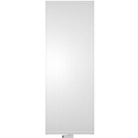 Radiateur panneau en acier profilé vertical - Verteo-Profil - Type 21 - 1935W - Blanc