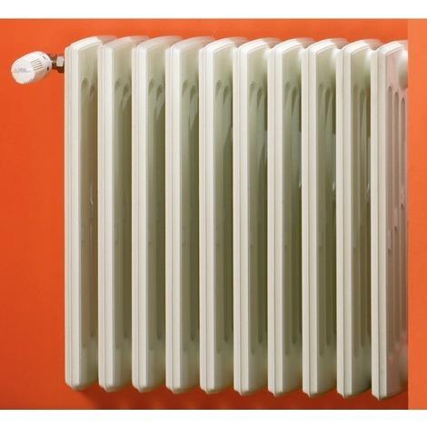 Radiateur panneau fonte Baxu DUNE Prépeint, H700mm, 1 élément, 4 colonnes 101W