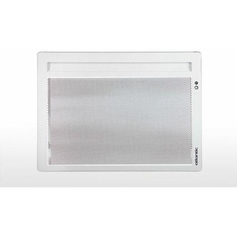 Radiateur panneau rayonnant Solius Ecodemo horizontal - 500W - Blanc - Atlantic