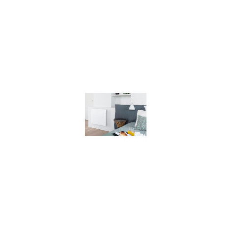 RADIATEUR RAYONNANT A INERTIE PILOTEE CAMPALYS 3.0 CAMPA (Blanc Satiné - Plinthe - 750 W - 300 x 1000 x 105 mm)