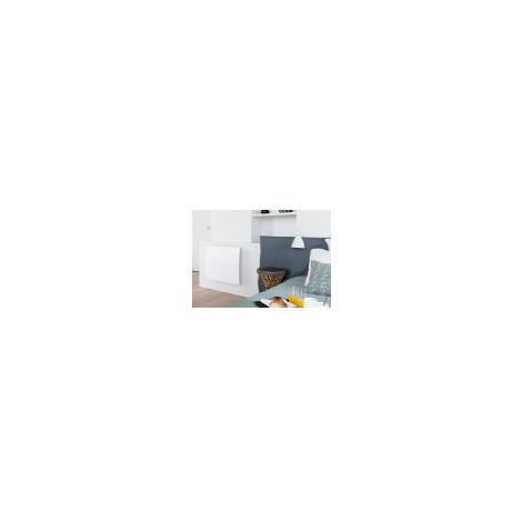 RADIATEUR RAYONNANT A INERTIE PILOTEE CAMPALYS 3.0 CAMPA (Couleur: Blanc Satiné - Sens: Plinthe - Puissance: 750 W - Dimensions: 300 x 1000 x 105 mm)