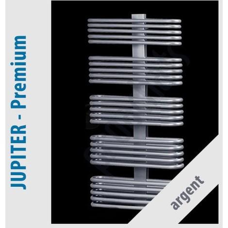 RADIATEUR SALLE DE BAINS sèche- serviettes JUPITER PREMIUM JP-10/60 430x600 ARGENT