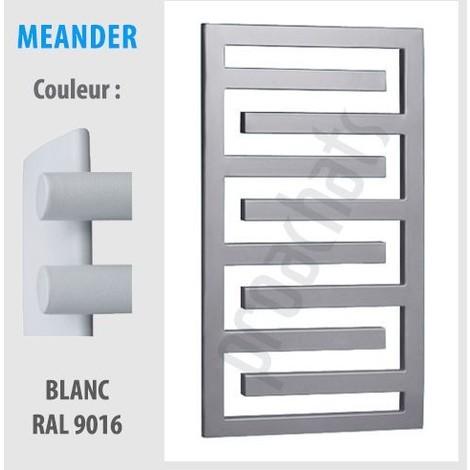 """main image of """"RADIATEUR SALLE DE BAINS sèche- serviettes MEANDER ME-115 1150x550 anthracite"""""""