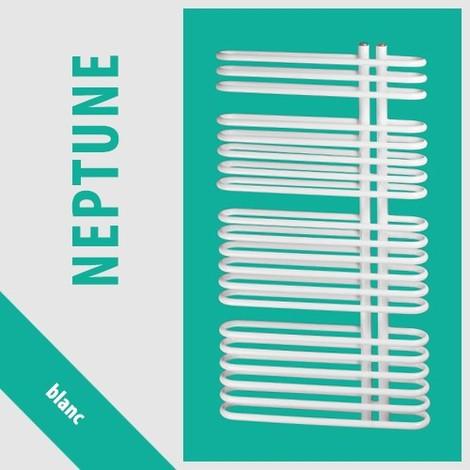 RADIATEUR SALLE DE BAINS sèche- serviettes NEPTUNE N-8/50 480x500 BLANC