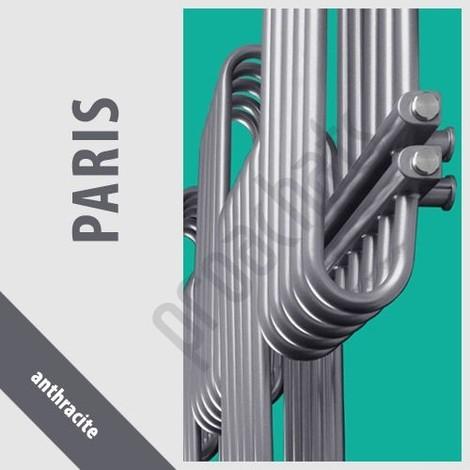 RADIATEUR SALLE DE BAINS sèche- serviettes PARIS P-15 800x700 ANTHRACITE