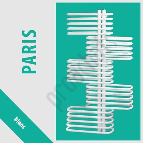 RADIATEUR SALLE DE BAINS sèche- serviettes PARIS P-15 800x700 BLANC