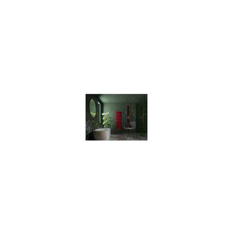 RADIATEUR SECHE SERVIETTE ATLANTIC NEFERTITI 2 ETROIT VENTILO COULEUR (Rouge - Etroit - 500 W + 1000 W Soufflerie)
