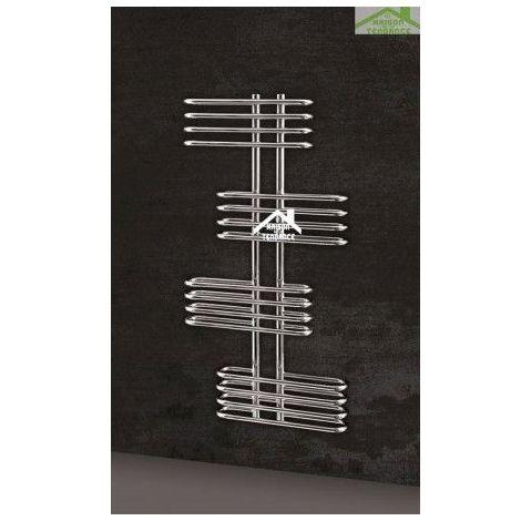 Radiateur sèche-serviette design vertical EDEN 50x120 cm en chrome