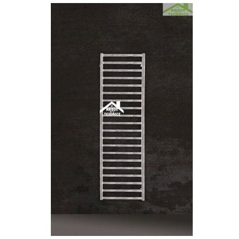 Radiateur sèche-serviette design vertical KARNAK 50x100 cm en chrome