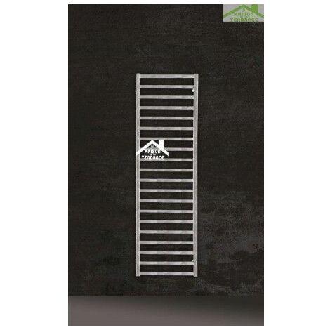 Radiateur sèche-serviette design vertical KARNAK 50x170 cm en chrome