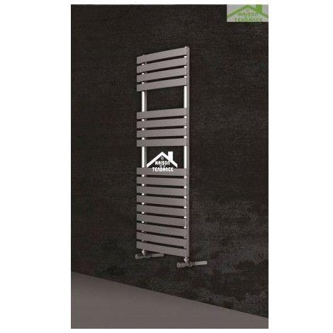 Radiateur sèche-serviette design vertical PUKITA 50x175 cm en chrome