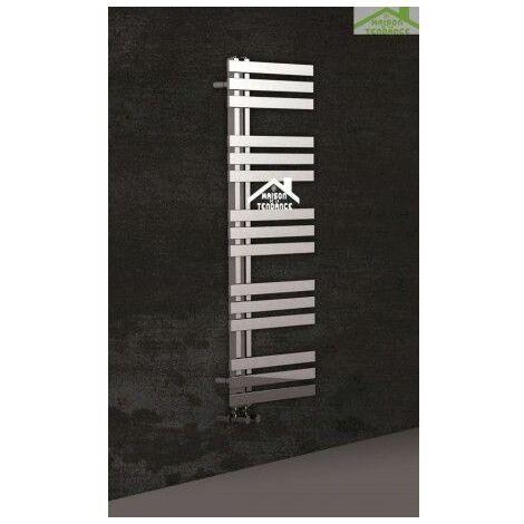 Radiateur sèche-serviette design vertical VERONA 50x120 cm en chrome