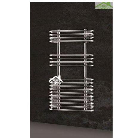 Radiateur sèche-serviette design vertical VIVIEN 50x90 cm en chrome