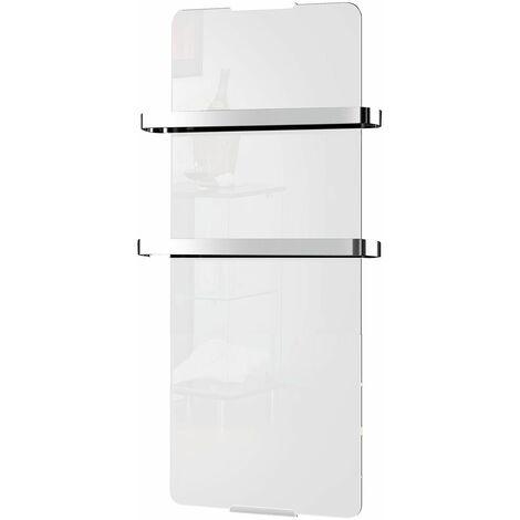 radiateur sèche serviette électrique 1200w blanc - 175 - chemin'arte