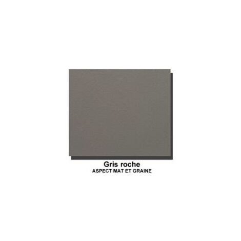 Radiateur sèche-serviette RIVA 3 THERMOR eau chaude 943W Central - Gris roche - 471524