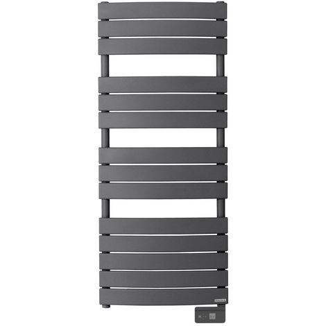 Radiateur seche-serviette RIVIERA 500W gris menhir-sans soufflerie