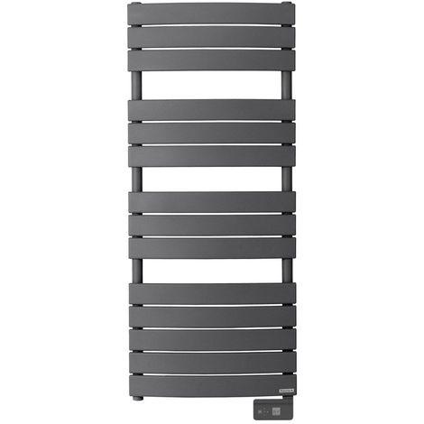 Radiateur seche-serviette RIVIERA 750W gris menhir-sans soufflerie