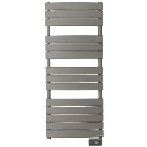 Radiateur seche-serviette RIVIERA 750W gris roche-sans soufflerie