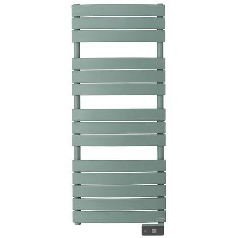 Radiateur seche-serviette RIVIERA 750W vert eucalyptus-sans soufflerie