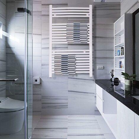 radiateur s che serviettes eau chaude 1000x600mm incurv. Black Bedroom Furniture Sets. Home Design Ideas