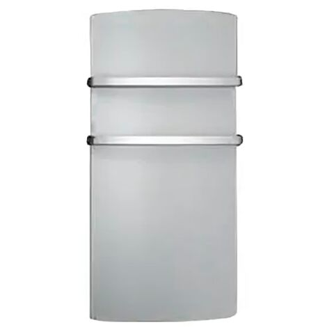 Radiateur sèche-serviettes à rayonnement façade miroir Miro Supra - 1500 W - Prise USB
