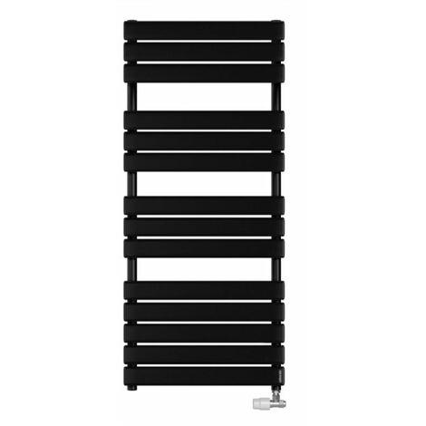 Radiateur sèche-serviettes Adélis eau chaude - 685W - Noir