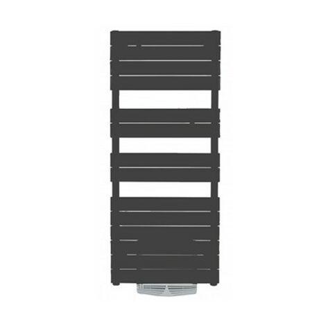 Radiateur sèche-serviettes Adelis Intégral ventilo graphite - 750 + 1000W