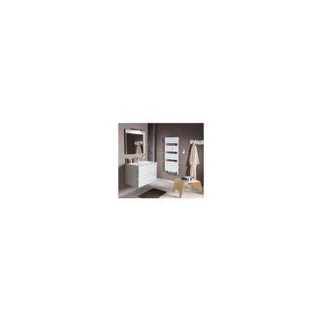 Radiateur Seche-Serviettes ATLANTIC ADELIS INTEGRAL (Blanc Carat - 750 W + 1000 W - 1370 x 556 x 117,5 mm - Intégral)