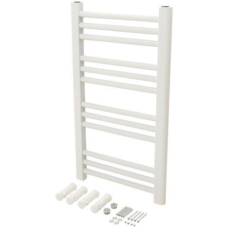 Radiateur sèche-serviettes blanc - 700 x 400 mm