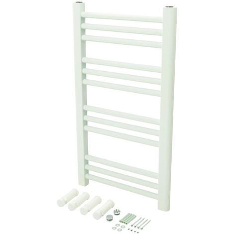 Radiateur sèche-serviettes blanc 700 x 400 mm