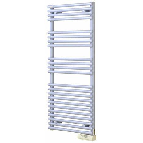 """Radiateur sèche-serviettes - Cala électrique - 1000 W - Couleurs - Régulateur """"Timerprog"""" - White matt - 0556"""
