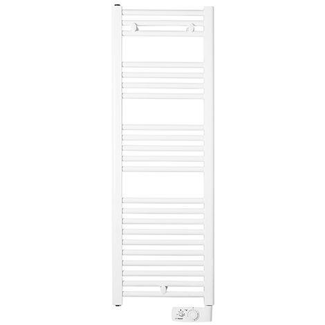 Radiateur sèche-serviettes Corsaire - Étroit - 500W - Blanc - Thermor Pacific