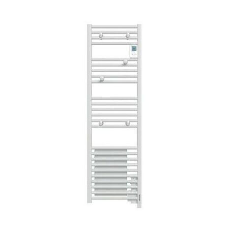 Radiateur sèche-serviettes Doris Digital étroit 1300W blanc