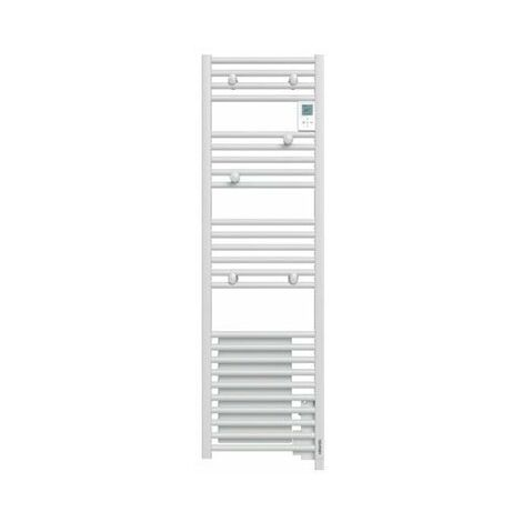 Radiateur sèche-serviettes Doris Digital étroit ventilo 1500W blanc