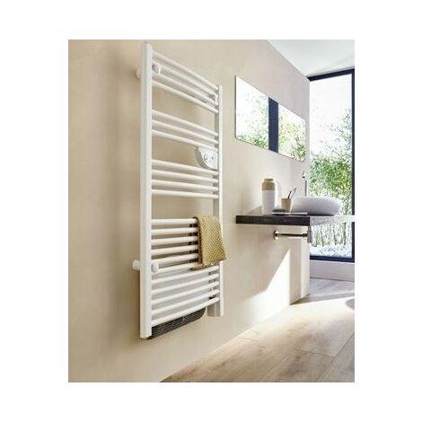 Radiateur sèche-serviettes Doris eau chaude collecteurs 0380W blanc ATLANTIC 850250