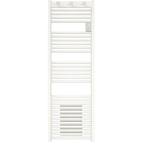 Radiateur sèche-serviettes Doris électrique digital 500W Blanc - blanc - blanc