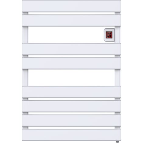 Radiateur sèche-serviettes électrique à inertie écran LCD 500W CAMERON Norme NF