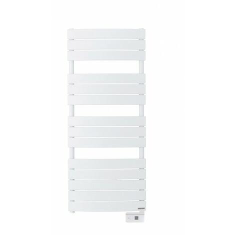 Radiateur sèche-serviettes électrique Riviera - 500W - Blanc granit