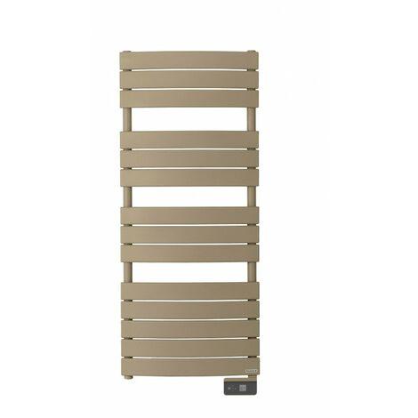 Radiateur sèche-serviettes électrique Riviera - 500W - Brun sable