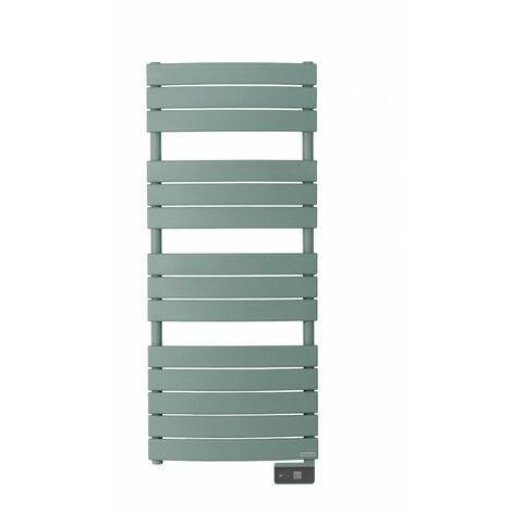 Radiateur sèche-serviettes électrique Riviera - 500W - Vert eucalyptus