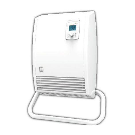 Radiateur sèche-serviettes électrique soufflant Hélios DS - 2000 W - Blanc