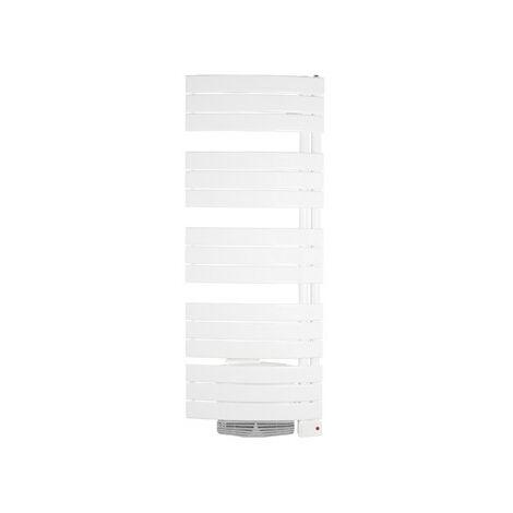 Radiateur sèche-serviettes mixte NEFERTITI - 1000 + 1000W - Blanc carat