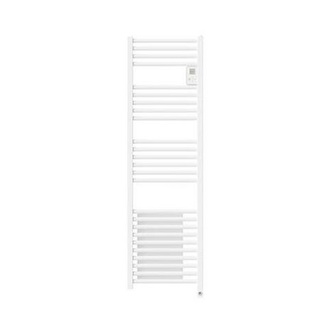 Radiateur sèche-serviettes Riva 4 - Étroit - Sans soufflerie - 500W - Blanc satin