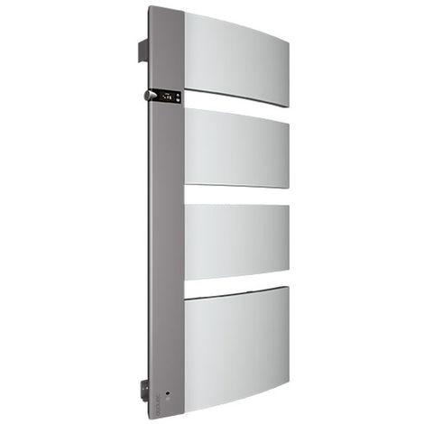 Radiateur seche-serviettes SENSIUM 1750W blanc mât a gauche
