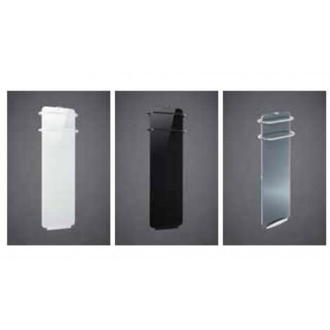 Radiateur sèche-serviettes soufflant en GLACE DE VERRE MASSIVE CAMPA CAMPAVER BAINS ULTIME 3.0
