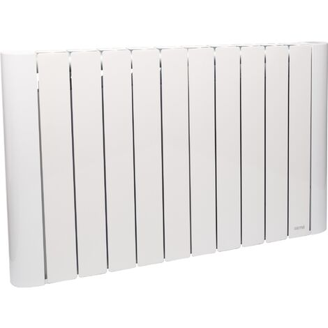 Radiateur Sølen à inertie céramique Varma - Corps aluminium - 1800 W - Blanc