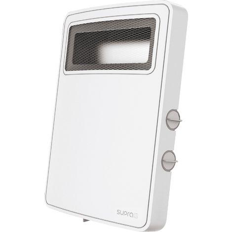 """main image of """"Radiateur soufflant à thermostat mécanique Etno - 2000 W - Blanc"""""""