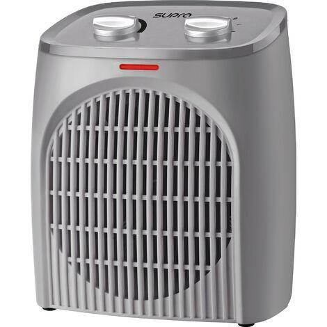 """main image of """"Radiateur soufflant à thermostat mécanique Soufleo - 2000 W - Gris"""""""