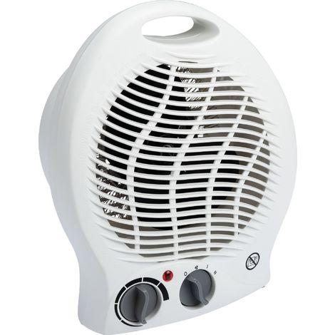 Radiateur soufflant avec ventilation froide 2000 W - Blanc - Varma